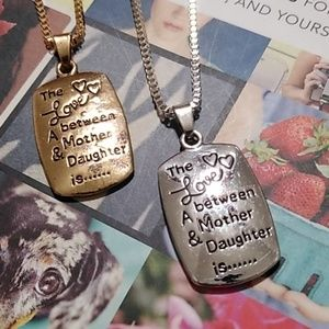 Jewelry - Gold/Silver 💜 Love Between A Mother & Daughter